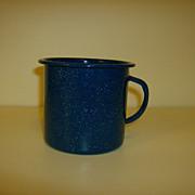 Vintage Enamelware Coffee Cup