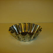 Tin Fluted Mold ~ West Germany