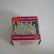 Bow Master Bow Maker ~ 1960's