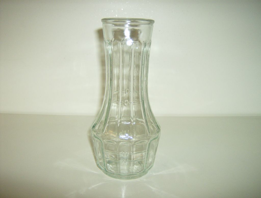 Good Seasons Ribbed Glass Cruet