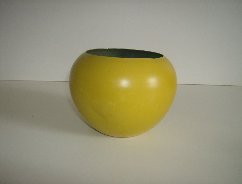 Aluminum Ball Vase 1950's