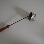 Rosette Iron Tart Mold ~ 1950's
