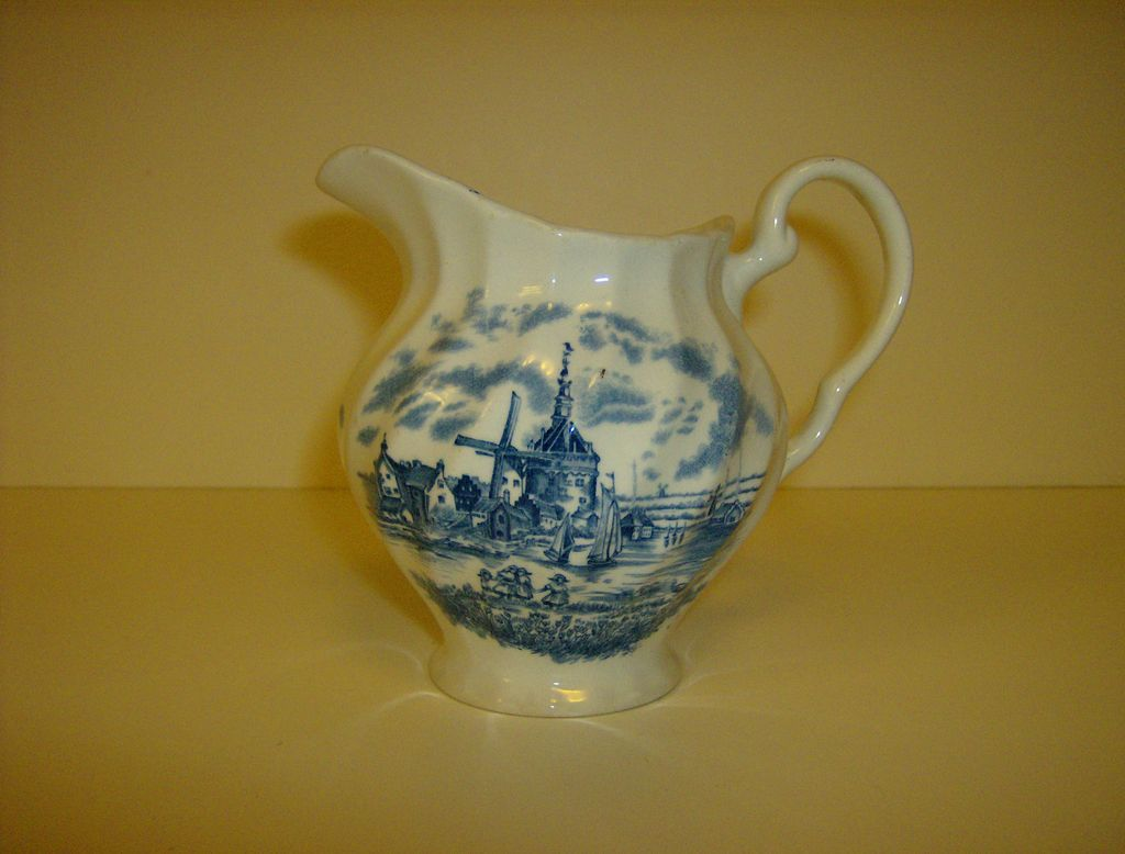 Tulip Time Creamer by Johnson Bros.
