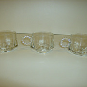 Hazel Atlas Crystal Snack Cups