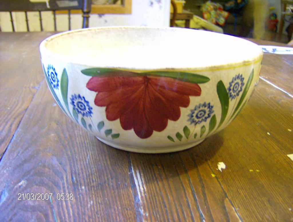 Antique Belgium Bowl made by Imperiale et Royale