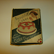 Beautiful Cakes Decorator Set in Original Box