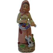 Old Woman Figurine by Homco