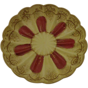 Nippon 3 footed Bowl Maple Leaf Mark