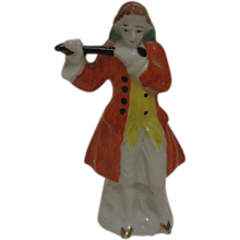 Victorian Man with Flute