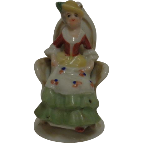 Victorian Woman Figurine