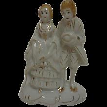 Victorian Couple Figurine 1940's