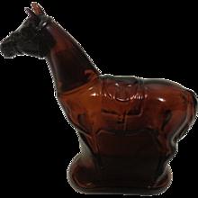 Avon Bottle Standing Horse 1970's