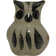 Tonala Mexican Pottery Owl
