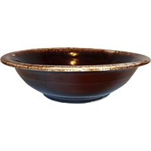 McCoy Brown Drip Bowl #7515