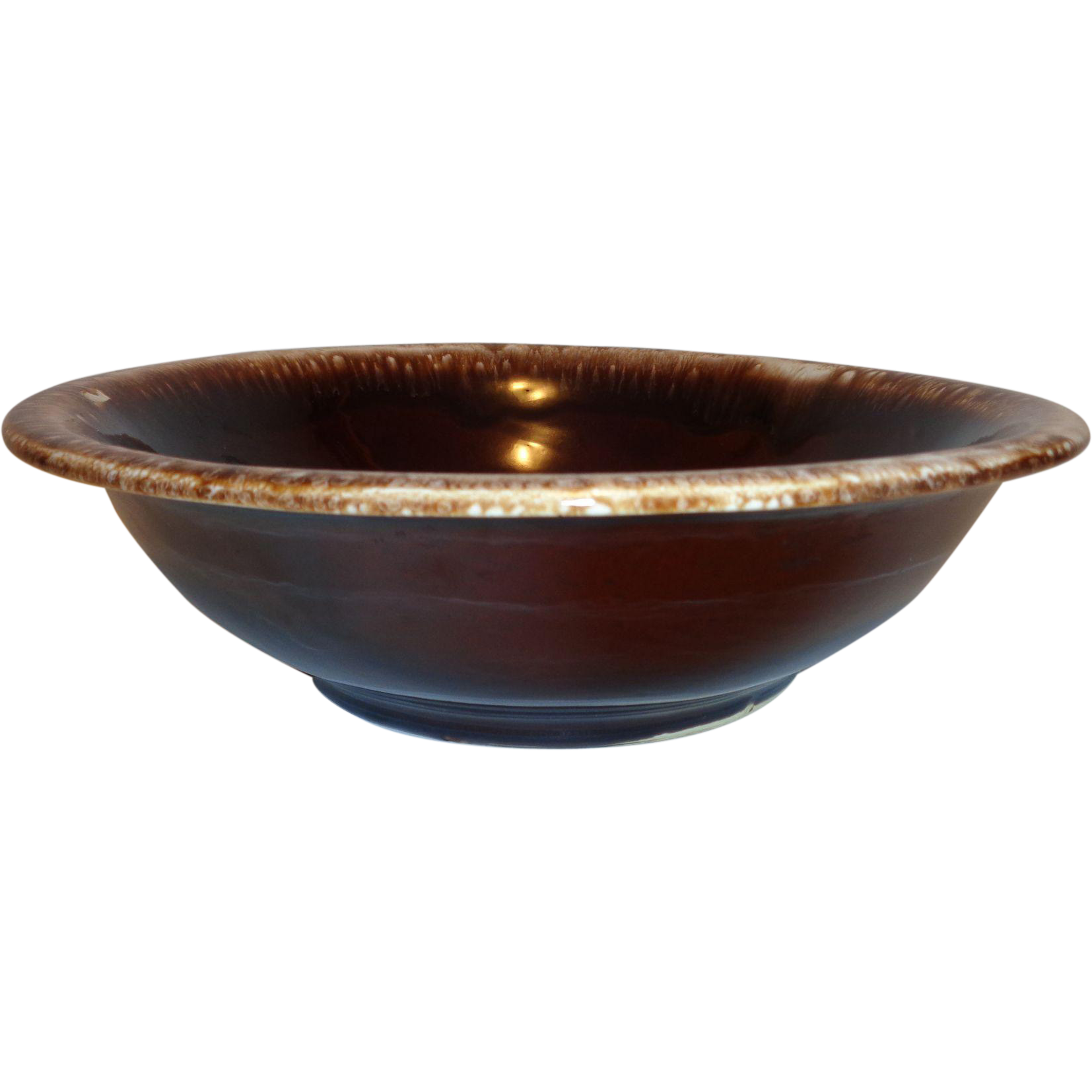 McCoy Brown Drip Bowl #7515