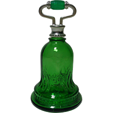 Avon Bottle Green Bell Sweet Honesty 1978