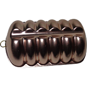 Copper Colored Aluminum Jello Mold Loaf Pan