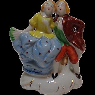 Victorian Couple Figurine