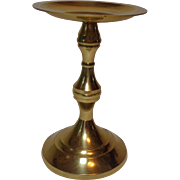Vintage Brass Candle Holder for Pillar Candle