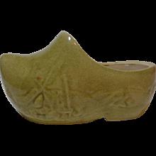 Dutch Shoe Ceramic Planter