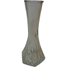 Hoosier Glass Bud Vase