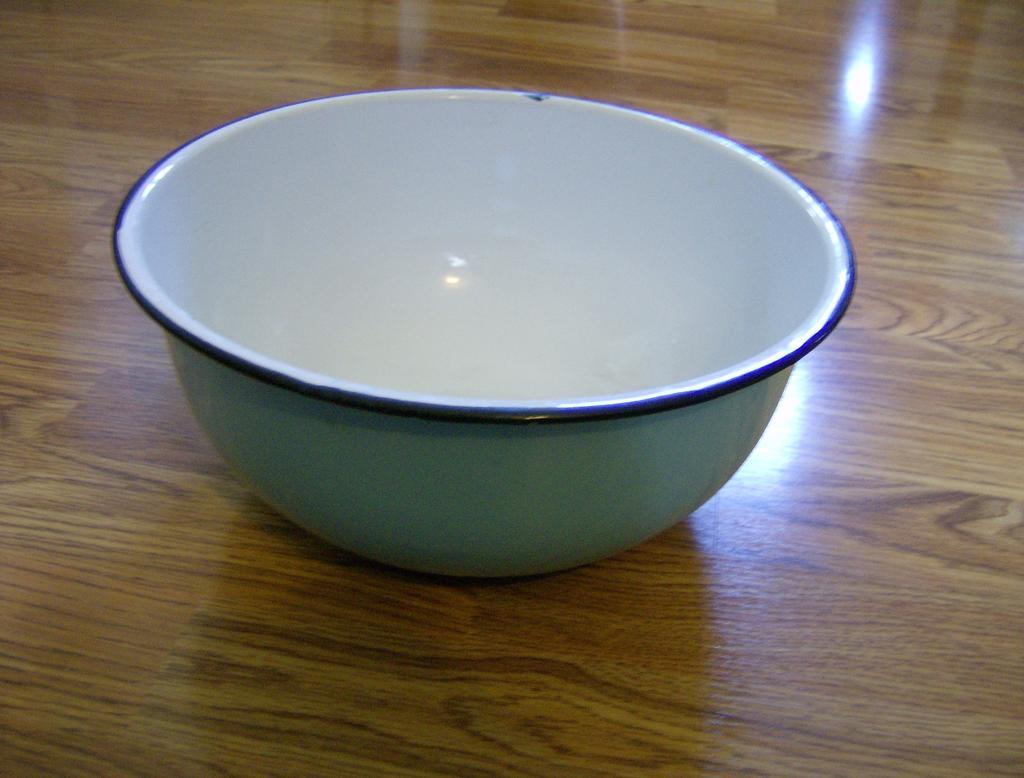 Granite ware Mixing Bowl Baby Blue