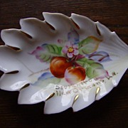 Porcelain Souvenir of New Orleans, LA Hand Painted Japan