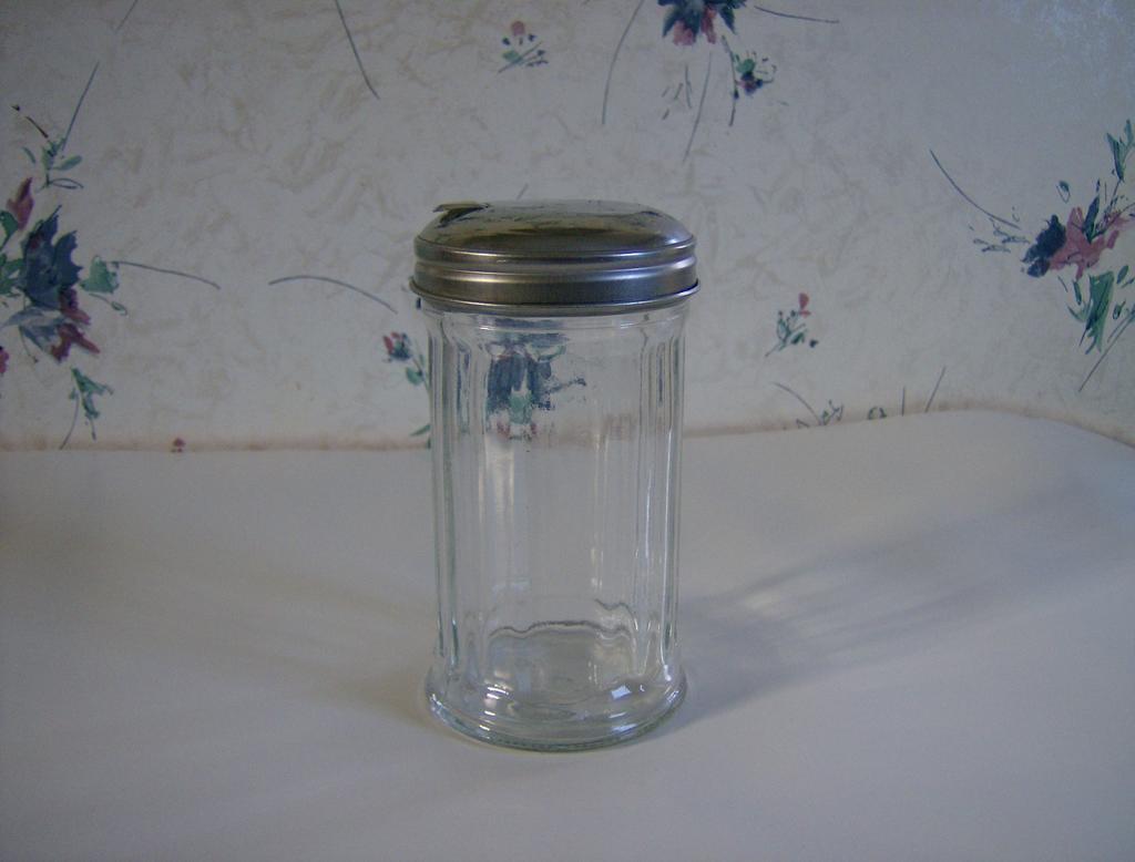 Diner Glass Sugar Dispenser by Gemco