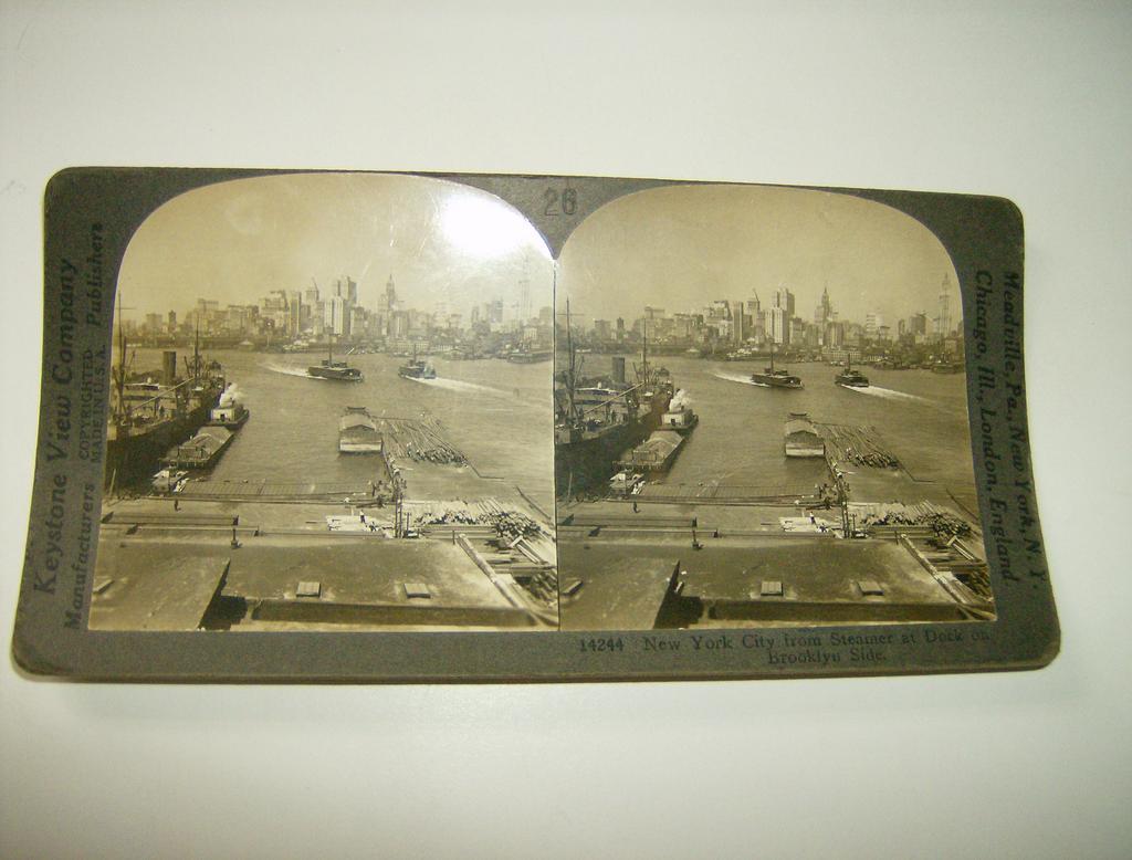New York City Stereoview - Keystone View Company 1907