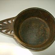 Cast Iron Porringer Tab Shaped Handle  218