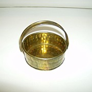 Brass Basket Made in India
