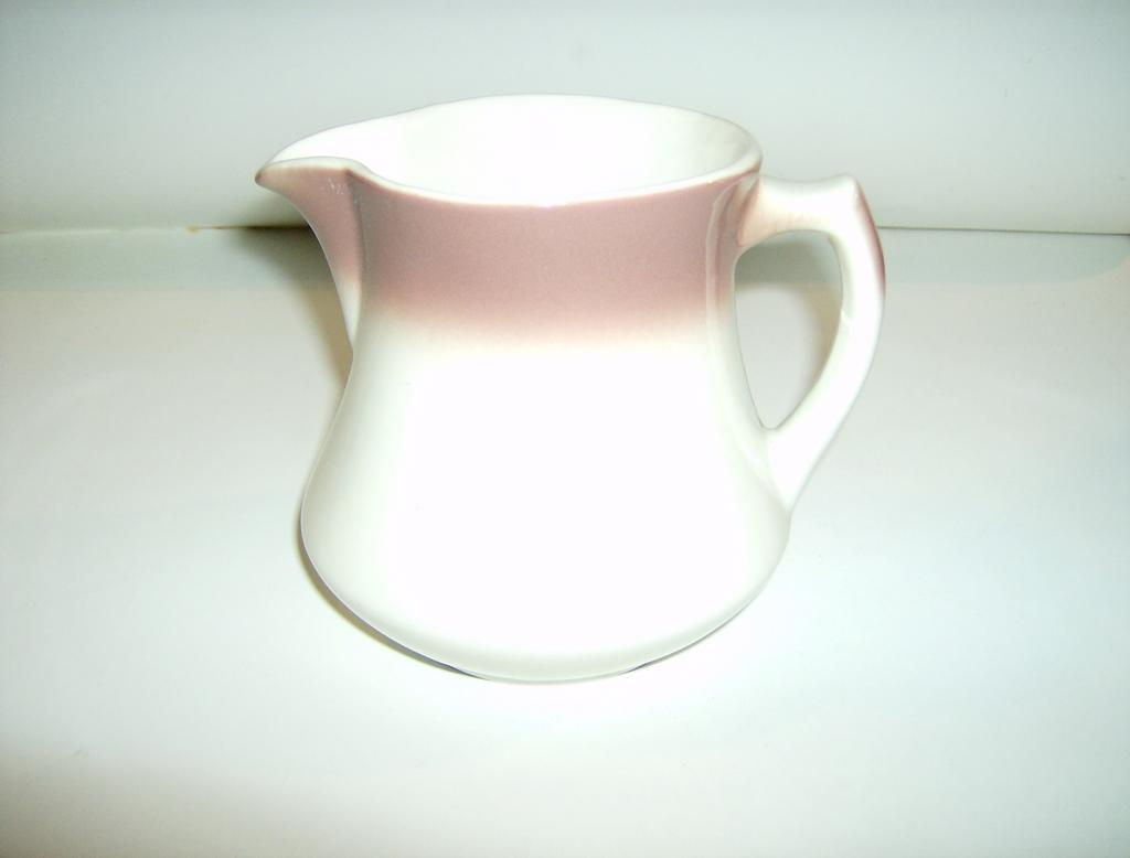 Mayer China Faded Cranberry Milk Pitcher
