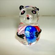 Blown Glass Bear Paperweight