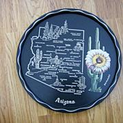 Souvenir Tin Litho Tray - Arizona