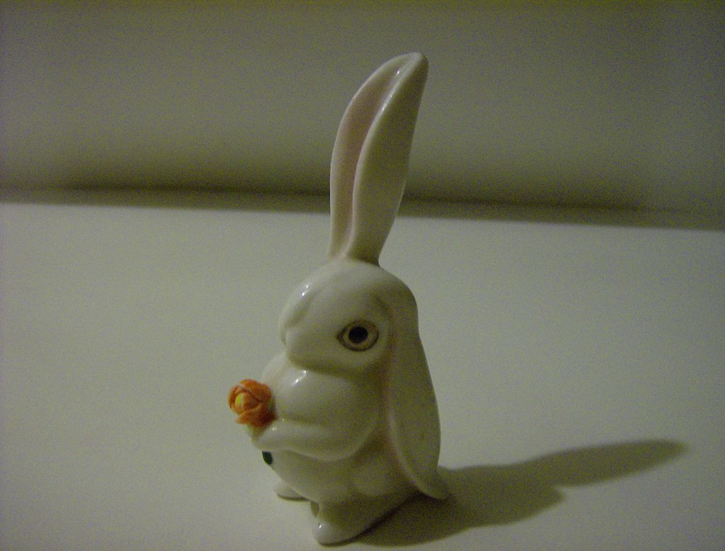 Enesco Bunny with Flower