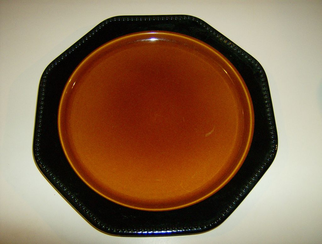 Sears Ironstone China OCTAGON AMBER  #4567
