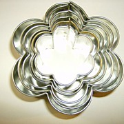 Nested Cookie and Cake Cutters