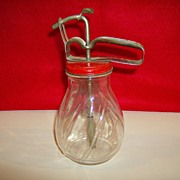 Vintage Syrup Dispenser with Pump
