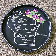 Souvenir State Tray - Wisconsin