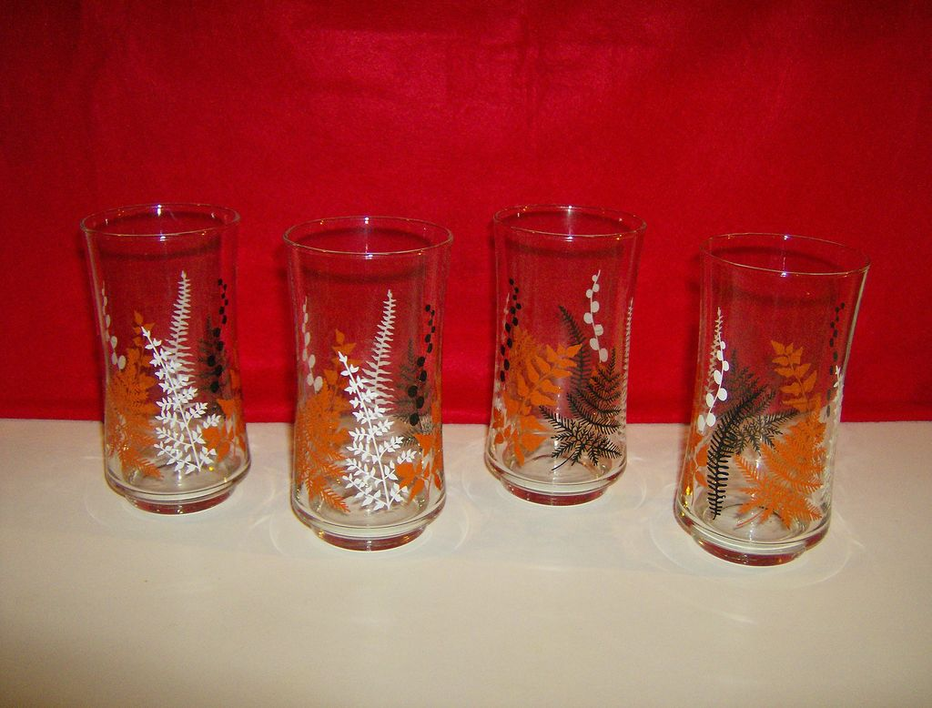 Libby Glass Tumblers 1960's