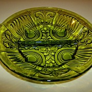 Indiana Glass Killarney 2-Part  Relish Dish