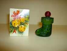 Avon Christmas Stocking Cologne Bottle