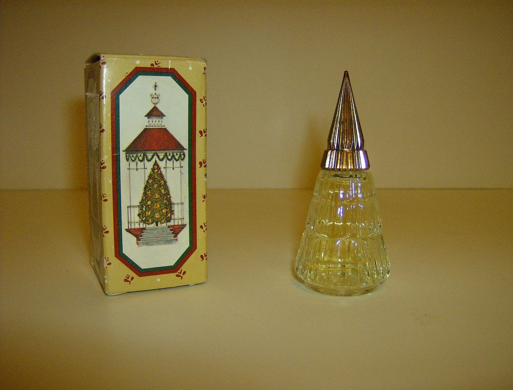 Avon Christmas Tree Cologne Bottle From Marysmenagerie On