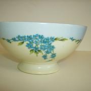 Vignaud Freres Limoges Pedestal Bowl