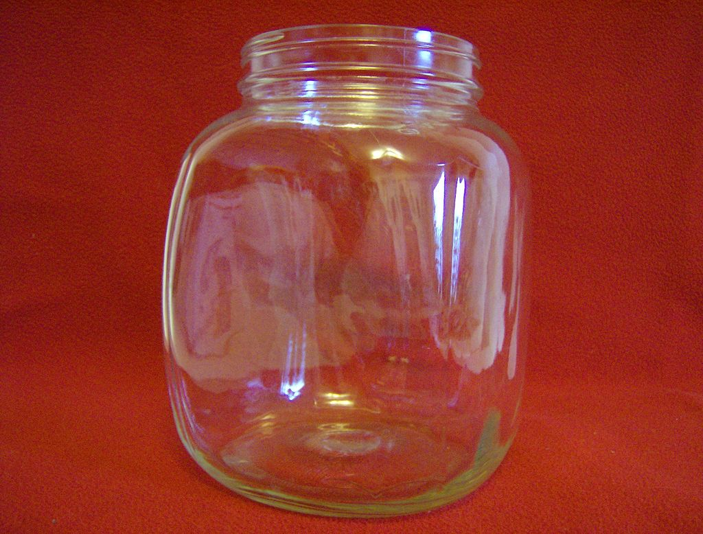 "Hazel Atlas ""Wave"" Canister/Jar"
