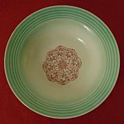 Cronin China Serving Bowl ~ 1930's ~ Minerva, Ohio