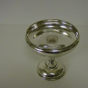 Silver Plate Pedestal Bon Bon Dish ~ Lawrence B. Smith Co.