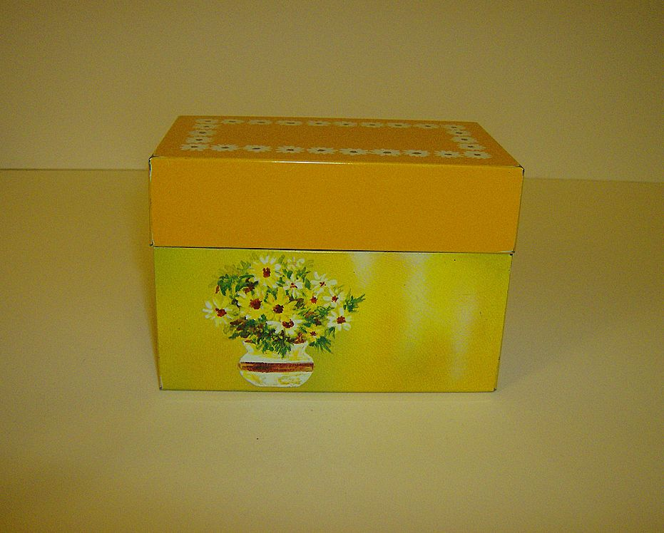 Ohio Art ~ Recipe Box ~ Bryan, Ohio