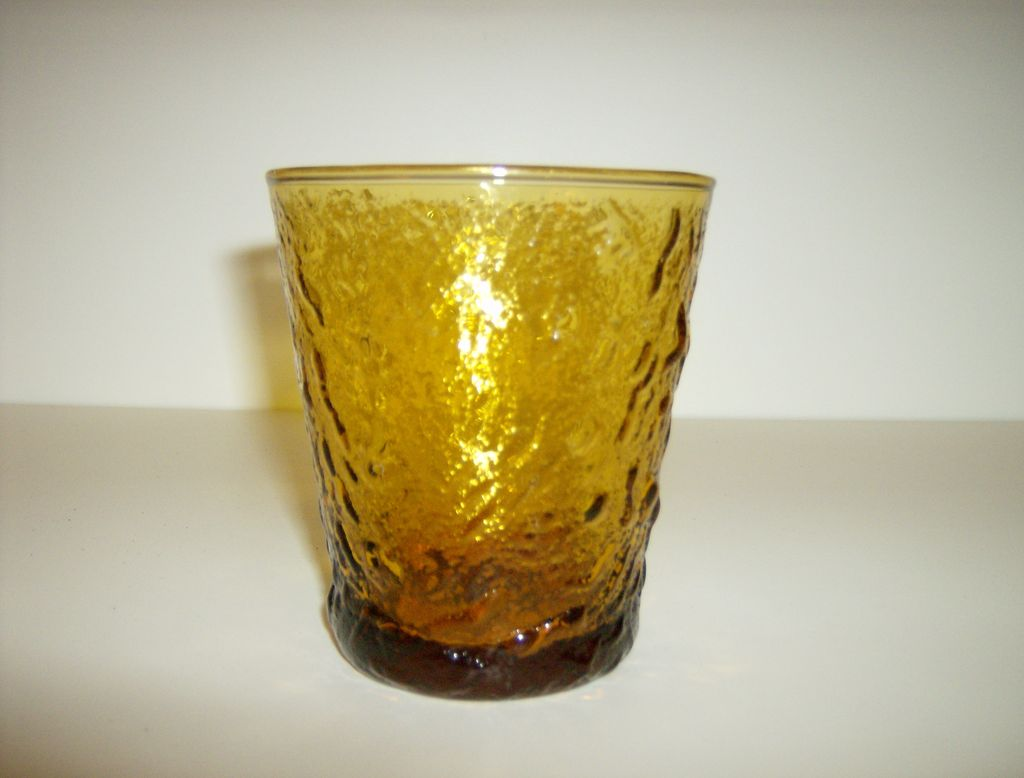 Anchor Hocking Milano Honey Gold Tumbler
