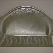 Repousse Aluminum Crumb Tray